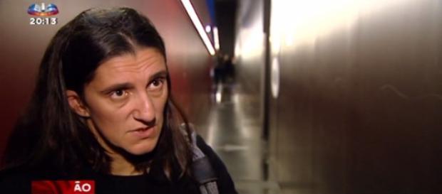 Célia Barreto em entrevista à SIC