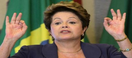 Dilma participou de evento no Palácio do Planalto