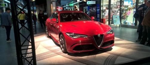 Alfa Romeo Giulia foto di Jonathan Anedda
