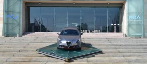 Alfa Romeo Giulietta alla sede Fca di Torino
