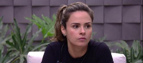 Ana Paula foi expulsa por agressão