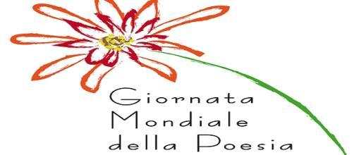 Il logo della Giornata Mondiale della Poesia