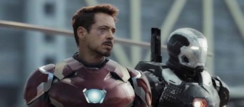 Iron Man en 'Captain America: Civil War'