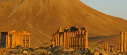 L'area archeologica di Palmira