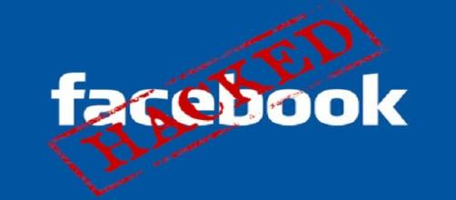 La red social de Facebook hackeada