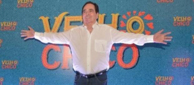 Benedito Ruy Barbosa em festa de Velho Chico