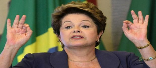 Dilma participou de evento no Palácio do Planalto