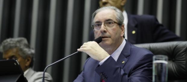 Eduardo Cunha parecia irritado em depoimento.