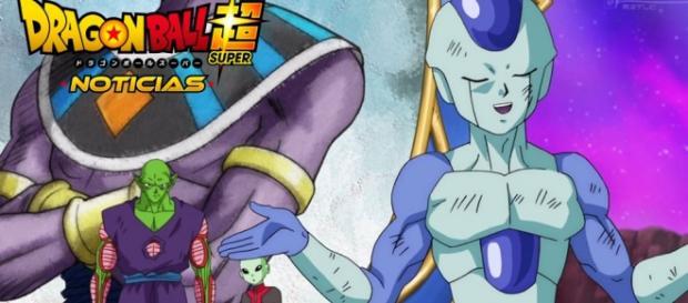 Frost en la pelea contra Piccoro en el episodio 34