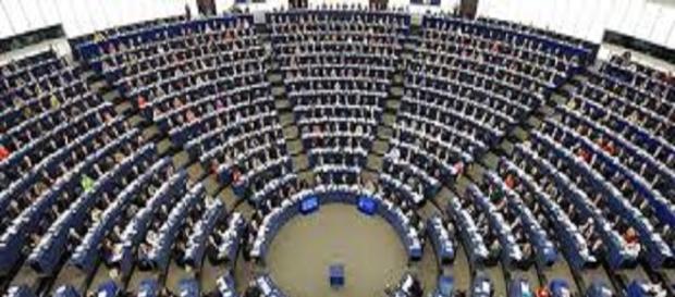 Parlamento europeo con sede a Bruxelles