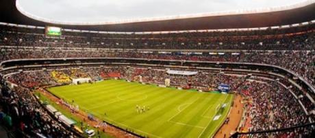 El Estadio Azteca de México, casa del América