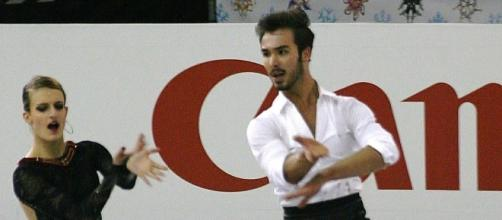 Gabriella Papadakis and Guillaume Cizeron of France defended their World ice dancing title on March 31. Luu/Wikimedia