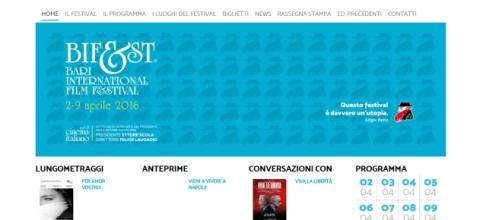 Il sito e il logo ufficiale del Bif&st