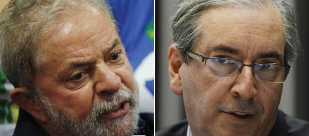 Lula e Cunha: protagonistas de um conflito