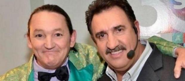Marquito e Ratinho - Foto/Reprodução: SBT