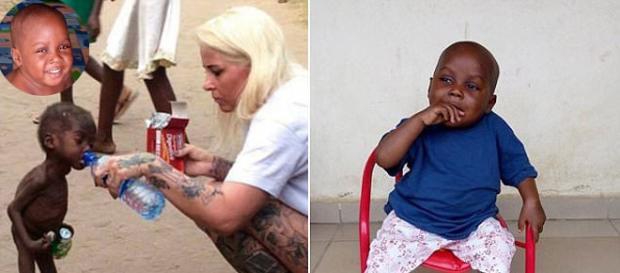"""Miraculoasa recuperare a """"copilului vrăjitor"""" - Foto Facebook"""