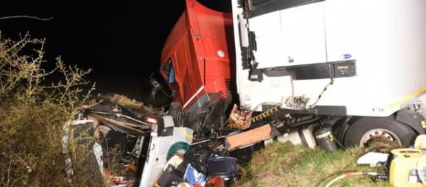 O acidente provocou doze vítimas mortais