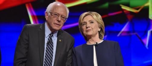 Bernie Sanders ed Hillary Clinton, prosegue la corsa a due