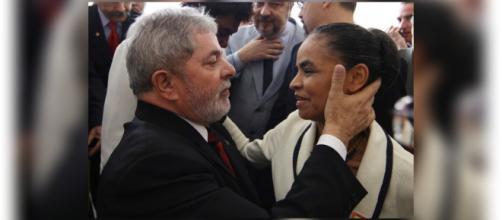 Lula e Marina Silva lideram as pesquisas