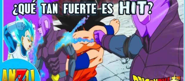 hit vs goku y vs vegeta, la fuerza de hit es increíble pero con una explicación bastante simple.