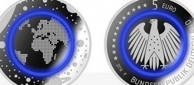 La moneta da 5 euro destinata ai collezionisti