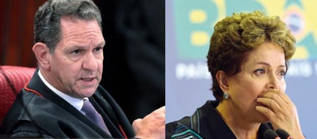 Ministro do STJ e Dilma - Foto/Reprodução