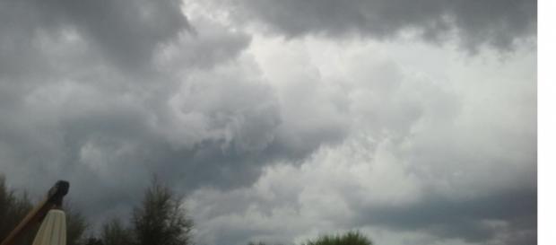 Si prevedono piogge sul Salento.