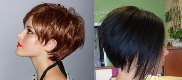 Tagli di capelli carre corti