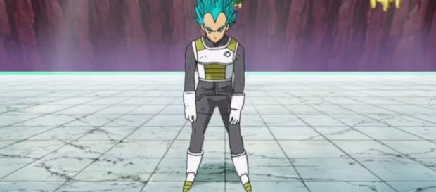 Vegeta mal dibujado Drgon ball super