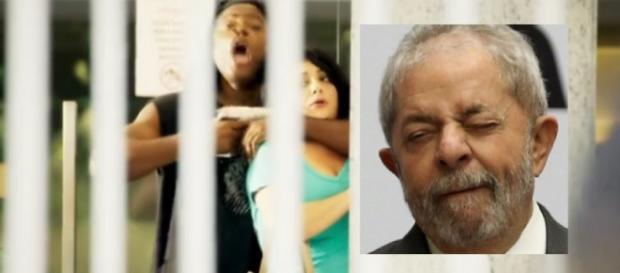 Zorra exibe bandido pedindo Ministério