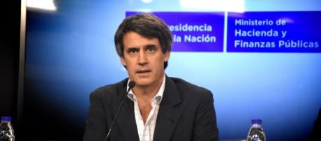 Ministro de economia Alfonso Prat-Gay