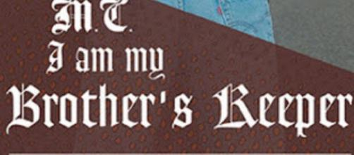 "Book cover of the novel ""I Am My Brother's Keeper"" by C.J. McShane"