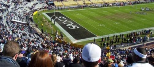 New Orleans Saints' Tiger Stadium (Wikipedia, Public Domain)