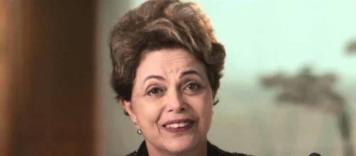 Presidente Dilma Rousseff em pronunciamento