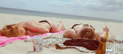 Tomar sol es bueno para la salud