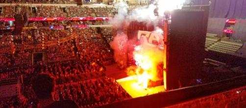 WWE Monday Night RAW [via flickr.com/otheaudacity]