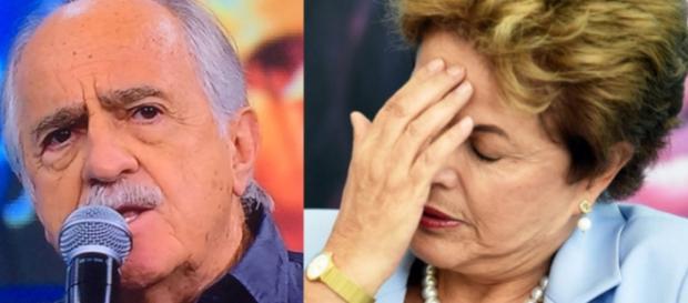 Ari Fontoura e Dilma Rousseff - Foto/Montagem