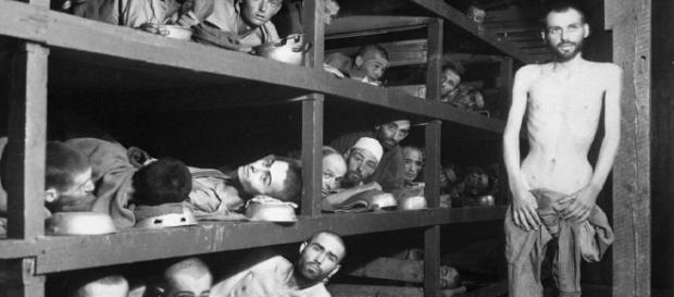 În 1945 americani eliberau Buchenwald-ul