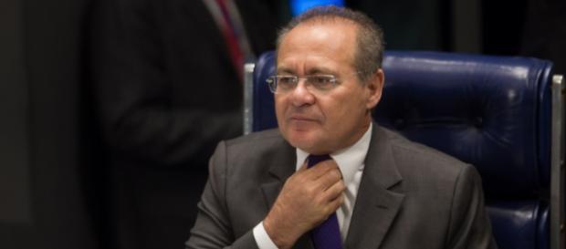 Renan Calheiros, presidente do Senado.