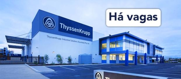 Vagas abertas na ThyssenKrupp - Foto: Reprodução Glassdoor