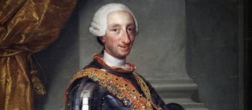 Carlo di Borbone il Re di Napoli