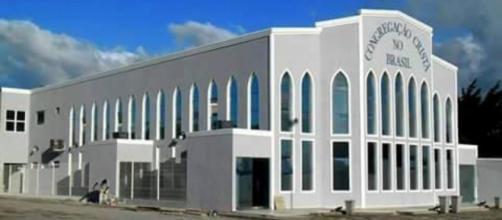 Congregação invadida em Arapiraca/AL (Reprodução)