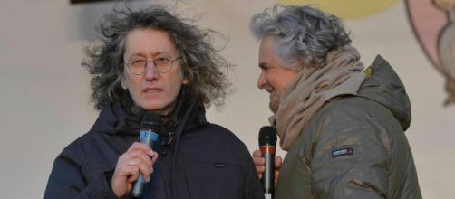 Gianroberto Casaleggio e Beppe Grillo. I due hanno fondato il Movimento 5 Stelle.