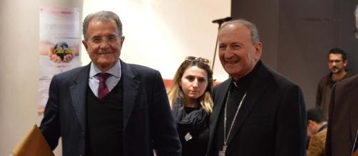 L'onorevole Romano Prodi a Bari