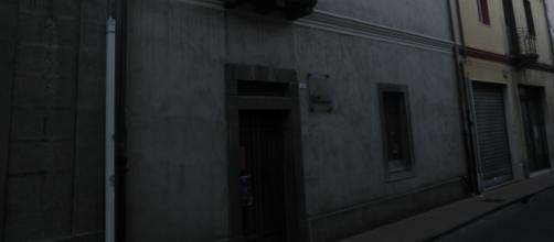 La casa natale di Antonio Gramsci a Ghilarza in Sardegna.