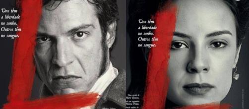 Mateus Solano dá vida ao vilão da trama.