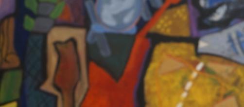 Obra de Miguel Suazo en la Casa del Arte Xochimilco
