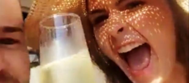 Ana Paula em Búzios (Reprodução/Snapchat)