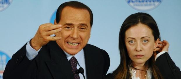 Berlusconi e Meloni ai tempi del PdL