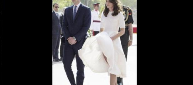 Kate Middleton versione Marilyn